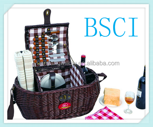Picnic Basket Jakarta : New cheap picnic wicker basket buy pcs s