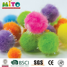 wholesale pompon for garment accessories