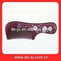 Natural venta al por mayor masajeador de madera peine el cabello Comb