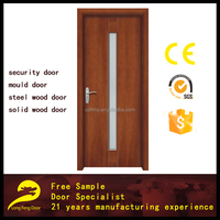 glass design interior fiber bathroom composite solid wooden door
