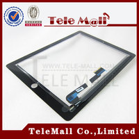 High quality for ipad 3 digitizer, touch digitizer for ipad 3, for ipad 3 touch screen with digitizer