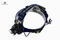 Zoom XML-T6 outdoor camping headlight telescopic focusing led head lamp