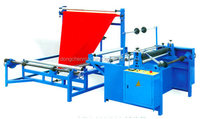 Plastic film Single layer folding machine,opp folding and bag making machine