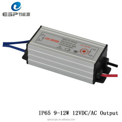 LED Solar Driver with 9W 10W 11W 12W Output LED Driver for Solar Light Constant Current LED Driver wth 2 years warranty