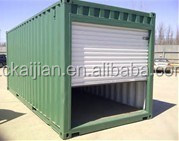 Modified container carport,one car portable garage