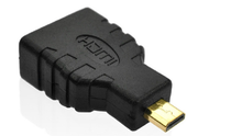1.4c HDMI AF TO HDMI DM male HDMI to micro male cable adapte connecter
