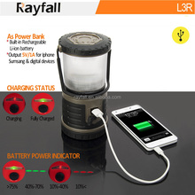 Wholesale outdoor waterproof ultra bright 60 led camping lights with charger