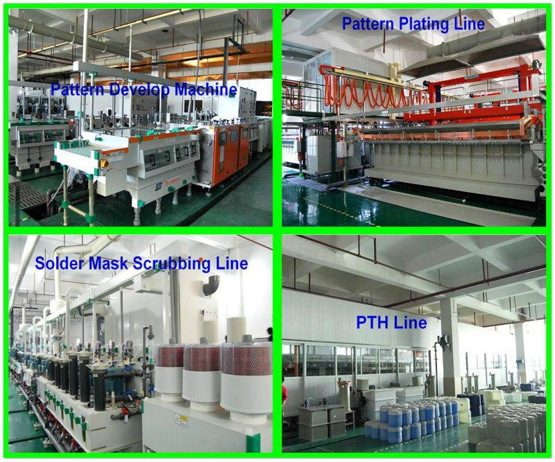 Sensor eletrônico PCB Placa de Circuito Impresso Assembléia