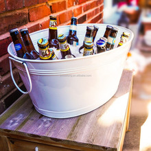 Galvanized beer carrier