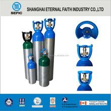 Aluminum cylinders head Aluminum Gas Cylinder