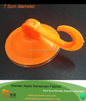 Innovative Suction hooks Power Lock Suction Cup Hooks Orange