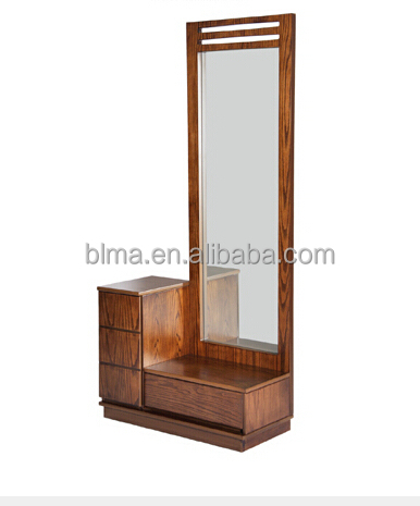 Wooden Dressing Table With Full Length Mirror
