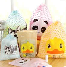 WBGE041 Customized Cute Cartoon Kids Drawstring Bag Wholesale