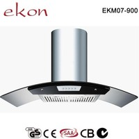 90cm Stainless Steel Baffle Filters Types Kitchen Chimney