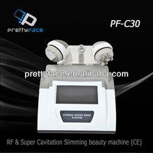 PF-C30 Beauty Equipment, RF&Super Cavitation Slimming Beauty Machine(CE)slimming beuaty equipment excellent