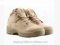 2014 new desgin High quality waterproof safety boots for traning special