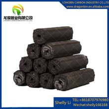Natural bamboo material long burning time 4-5hours high heat value low ash machine made BBQ charcoal