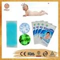 Fabricación de China oem parche de gel de enfriamiento reducir fiebre y dolor de cabeza