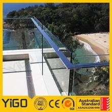 Balustrade en verre sans cadre / sans cadre balcon de verre Balustrade