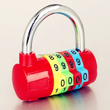 2015 Newest 4 digit code lock combination padlock
