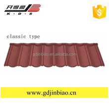 building material colorful stone coated metal roof tile , solar roof panel , Metal roofing tile sheet