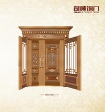 compound entry new design hot sale copper door