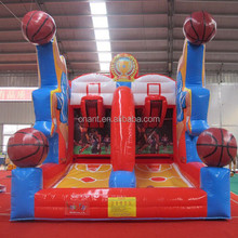hot sale inflatable basketball sports games for sale