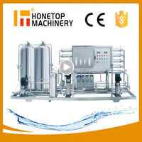 Economical tensa water filter