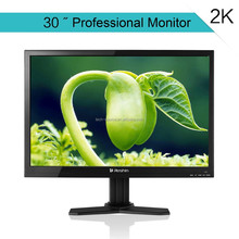 30 vga tft lcd tft monitor 24V with VGA/AV/DP/DVI input 2560*1440 pixel, factory quality and price support wall mounted