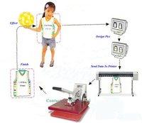 manual heat press machine High pressure digital control
