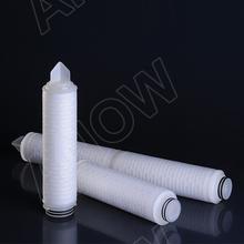 Pulgadas 30 0.1 micrones de membrana ptfe filtro de aire plisado/pall de gas cartucho de reemplazo