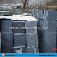 Black Calibrated slate tile