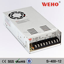 Hot sale high power ac/dc electric led driver 400W 12v power supply module