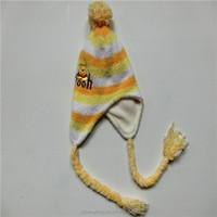 Wholesale winter cute warm women quality knit hat