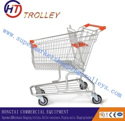 American 100L supermarket trolley for shopping