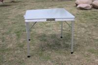 2015 hot portable Aluminum folding picnic table for camping (ks-50c),folding furniture