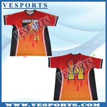 Cheap softball jersey with sublimation printing