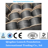 ungalvanized or galvanized wire rope hs code made in China