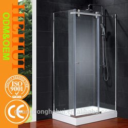 2RC-N78 bath shower enclosure and polycarbonate sunroom for 2 fixed 2 sliding shower enclosure