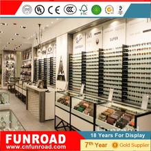 Conjunto de mostrador vitrina escaparate de la exhibision para tiendas de gafas cajero de nuevo modelo
