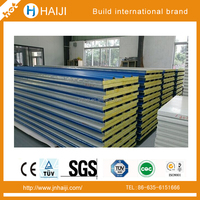 zlock eps sandwich panel without steel stripe for modular house or container home
