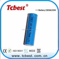 3.7v cylinder lithium ion battery 750mAh 14500 for mini segway scooter