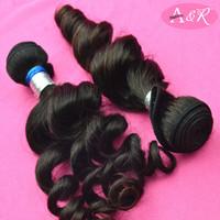 A&R Loose Curl Human Hair Weaving Tangle Shedding Free Human Hair Weaving Free Market Human Hair