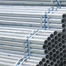 suppliers of high quality galvanized steel pipe /tubo galvanizado