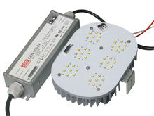 DLC/UL/CUL Listed replace 400w metal halide/HPS Meanwell driver led retrofit kit