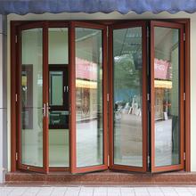 ROGENILAN door leaf luxury front door design used aluminum commercial door