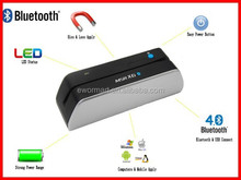 the smallest wireless bluetooth magnetic stripe card reader writer msr x6(bt)