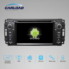 JEEP GRAND CHEROKEE/COMPASS 2007-2010/PATRIOT 2008-2009 CAR RADIO DVD WITH A8 CHIPSET DUAL CORE 1080P V-20