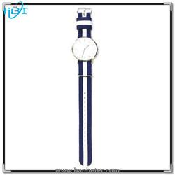 Japan movt quartz watch 316L stainless steel back case unisex slim wrist watch