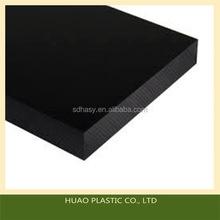 Bottom price professional black flame retardant hdpe 500 sheet